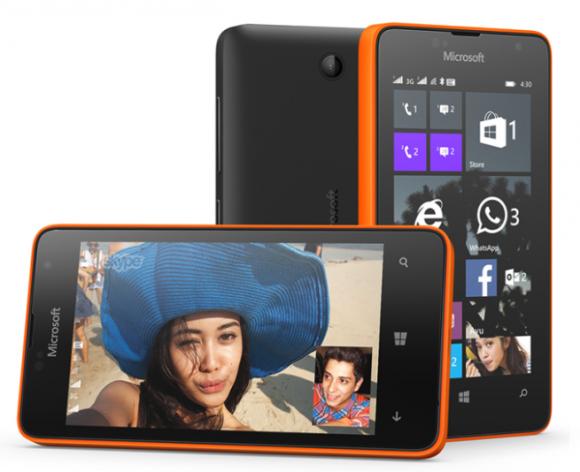 Nowy telefon marki Lumia wygląda podobnie do innych telefonów w ofercie Microsoftu