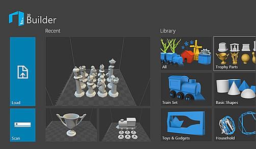 3D Builder z obsługą Kinect