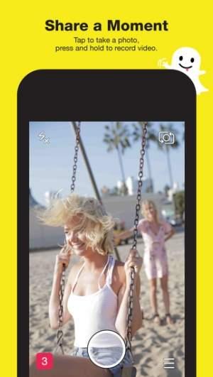 Snapchat służy do dzielenia się ze znajomymi ulotnymi chwilami