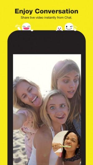 Na Snapchacie można wysyłać nie tylko zdjęcia, ale również filmy wideo