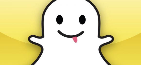 Ikona białego ducha jest charakterystyczna dla Snapchata