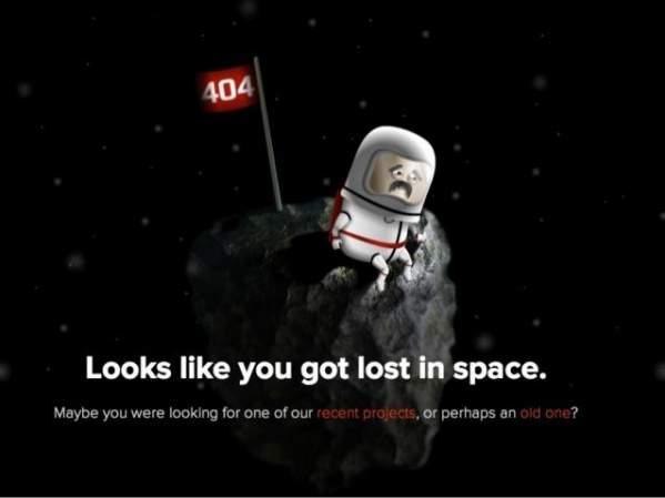 404 - porzucone i samotne w kosmosie (foto: agens.no)