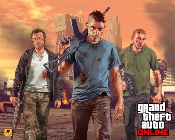 GTA Online (grafika z oficjalnej strony gry)