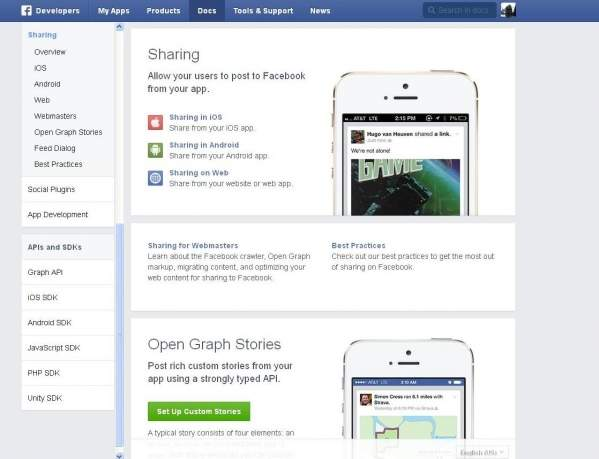 Strona Facebook Messenger (foto: własne)
