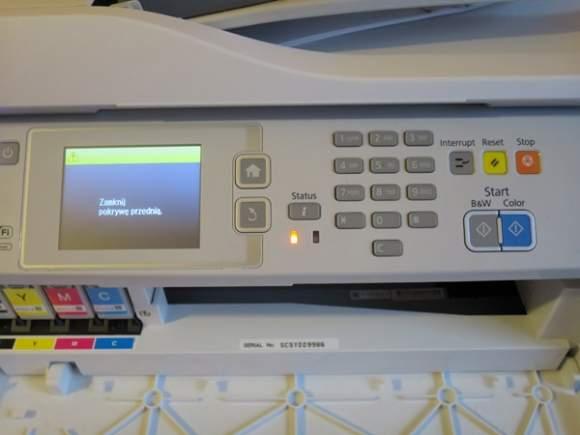 Epson WF-5620 - panel przedni