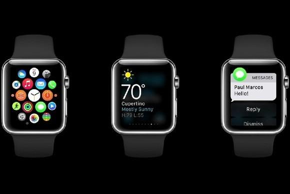 Apple Watch wyposażono w wiele aplikacji