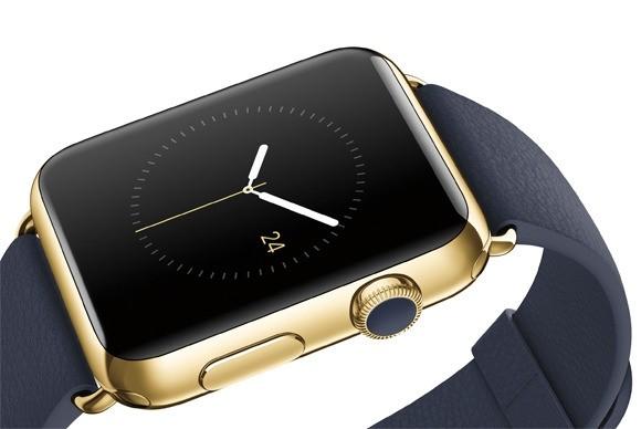 Apple Watch Edition ma kopertę wykonaną ze złota