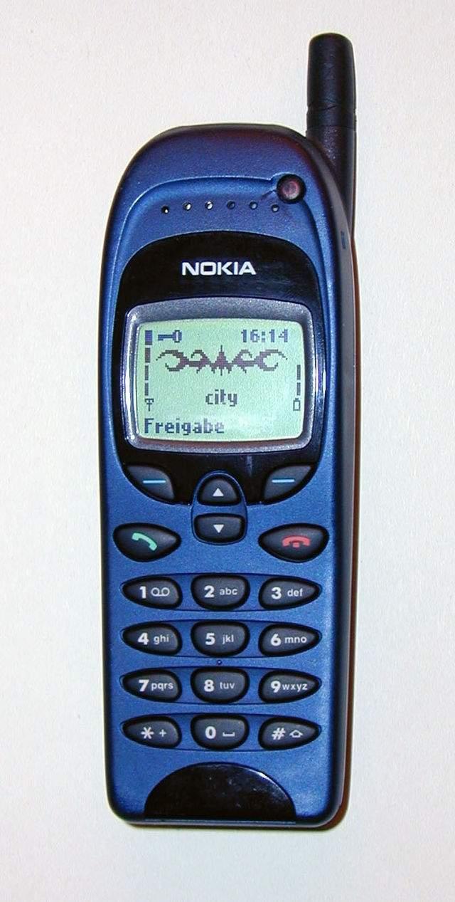 Nokia 6110 (foto: Wikipedia)