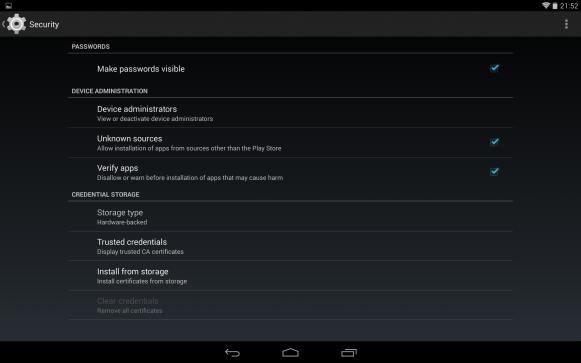Android KitKat - instalacja aplikacji z nieznanych źródeł