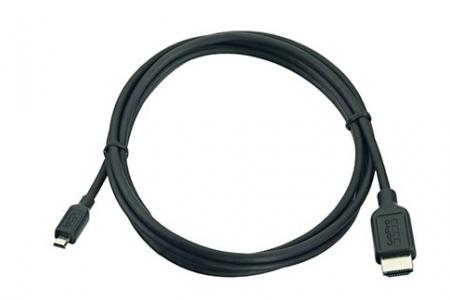 Na zdjęciu: przewód micro HDMI / HDMI. Cena: ok. 90 zł