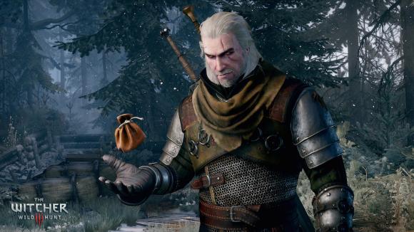 Geralt z Rivii to główny bohater gry Wiedźmin 3: Dziki Gon