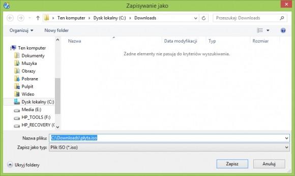 Obraz płyty – jak stworzyć i zamontować plik ISO