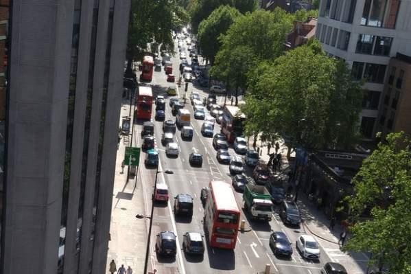 Korek uliczny (foto: Mikael Ricknas)
