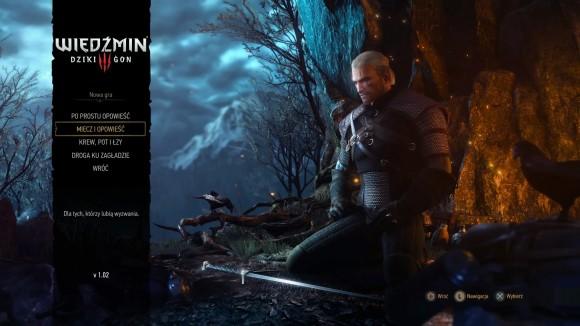 Gracze mogą wybrać jeden z czterech poziomów trudności