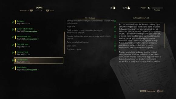 Wiedźmin 3: Dziki Gon to dziesiątki zadań, które gracz może wykonać