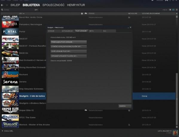 Steam - jak zrobić kopię zapasową gier?
