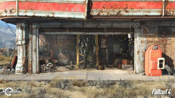 Fallout 4 - screen z gry