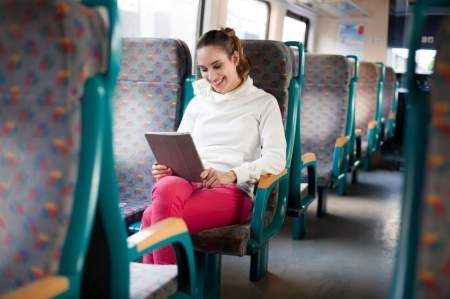 Tablet to doskonałe narzędzie pracy dla osób często podróżujących.