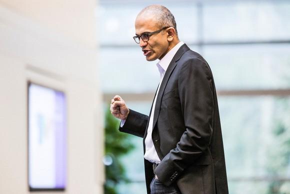 Satya Nadella, szef Microsoftu