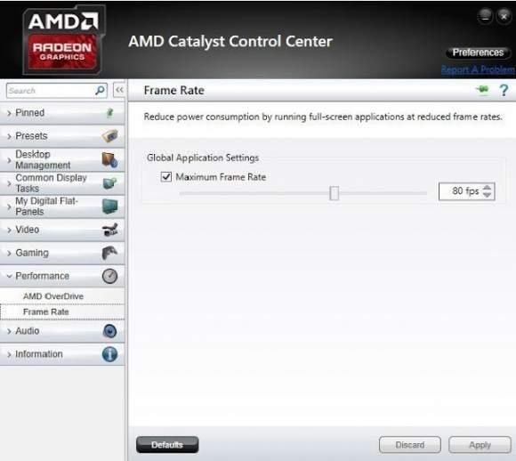 Opcje sterownika w kartach graficznych AMD R300