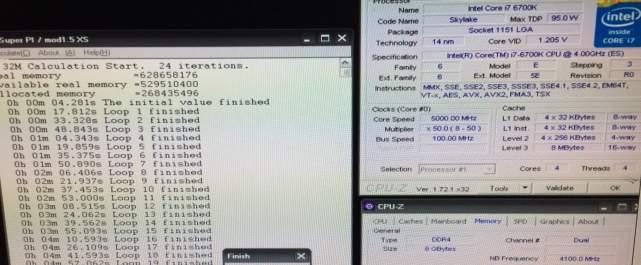 Podkręcony procesor Core i7 6700K. źródło: HKEPC