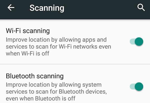 W lokalizacji pomaga teraz nie tylko łączność Wi-Fi, ale też łączność Bluetooth