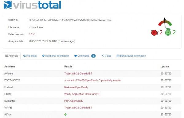 uTorrent na cenzurowanym (foto: TorrebtFreak)