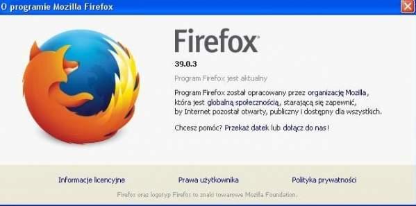 Firefox - wersja bezpieczna