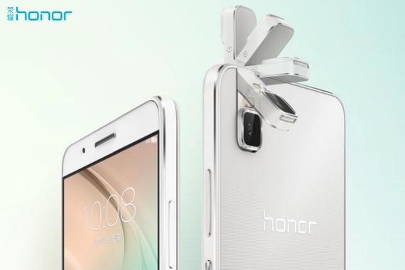Huawei prezentuje Honor 7i, czyli telefon z obracanym obiektywem