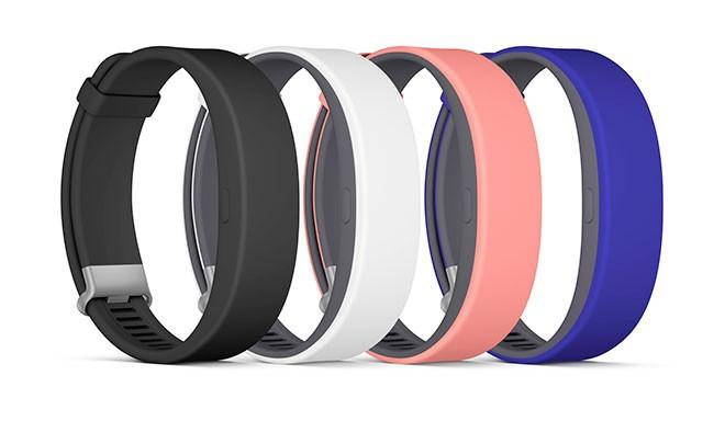 Sony Smartband 2 będzie dostępny w wielu różnych kolorach