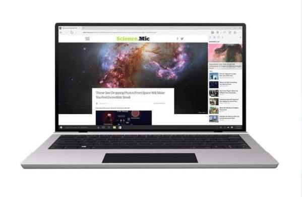 Laptop z Windows 10 (grafika: oficjalna strona Microsoftu)