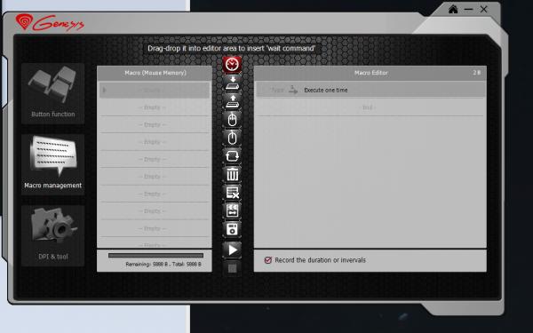 Natec  Genesis GX78 - oprogramowanie