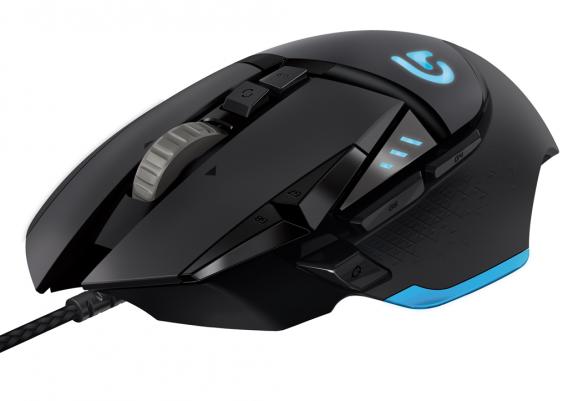 Logitech 502 Proteus Core - najlepsza mysz w teście