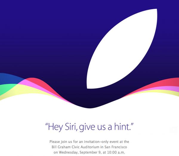Konferencja Apple - zaproszenie