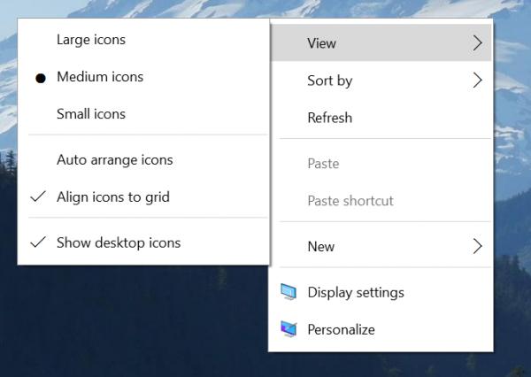 Windows 10 build 10532 - nowe menu kontekstowe