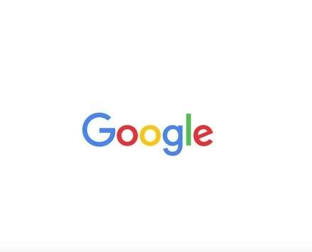 Google - nowe logo
