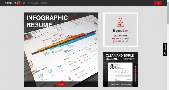 Serwis ResumUP pomaga zaplanować ścieżkę kariery. Ponadto wizualizuje dane zgromadzone w CV, tworząc infografikę, która zwróci uwagę niejednego rekrutera.