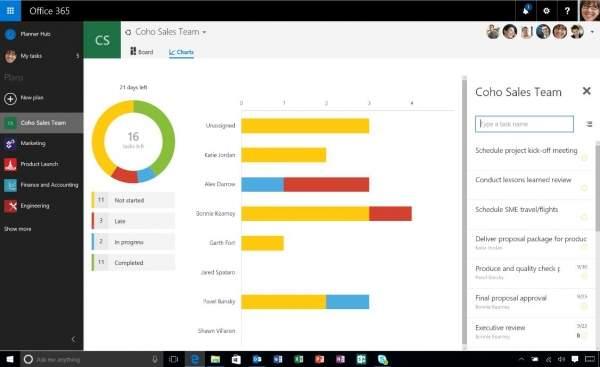 Office 2016 - Planner