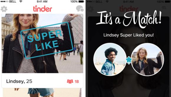 Tinder wprowadza przycisk Super Like