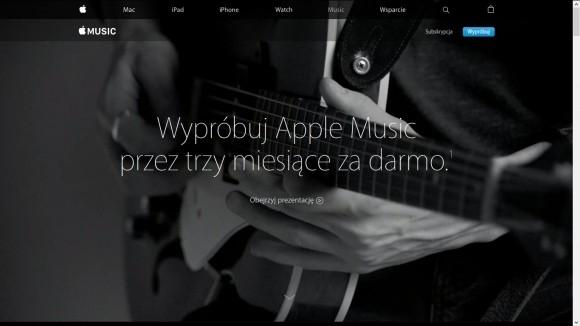 Firma Apple najważniej nie spieszyła się z wejściem na rynek strumieniowania muzyki. Usługa subskrybowania jest dostępna dopiero od końca czerwca br.