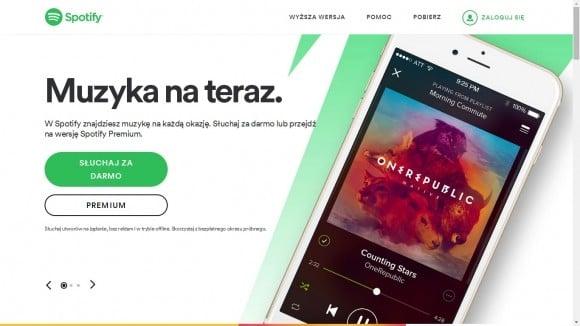 Godząc się z pewnymi ograniczeniami, możesz bezpłatnie korzystać z serwisu Spotify. Odpłatna usługa nie zawiera reklam.