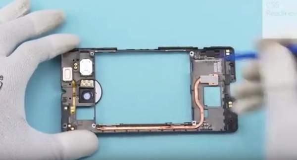 Lumia 950 XL - system chłodzenia cieczą