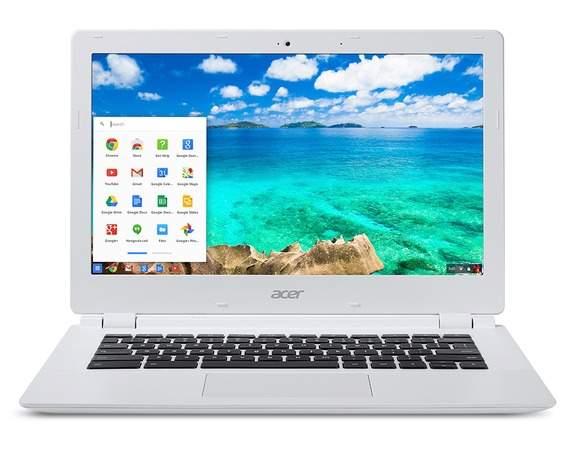 Chromebooki to laptopy z systemem Chrome OS