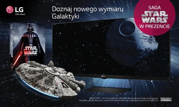 Nowa promocja dla klientów firmy LG ucieszy fanów Gwiezdnych wojen