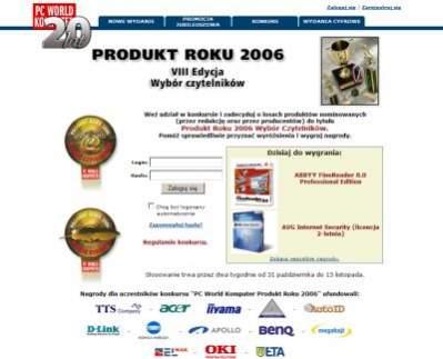 Produkt Roku 2006