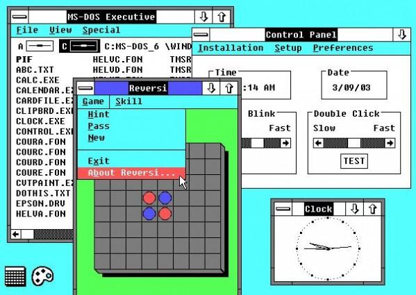 Windows 2.0 - postęp widoczny gołym okiem