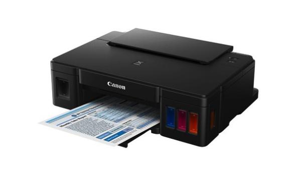 Nowe drukarki firmy Canon wyposażone są w system ciągłego podawania atramentu