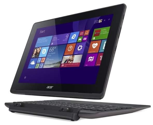 Acer Switch 10 SW5-015-105B to jeden z nielicznych 10 calowych laptopów hybrydowych, który wyposażony jest w ekran pracujący w rozdzielczością 1920 x 1200 pikseli.
