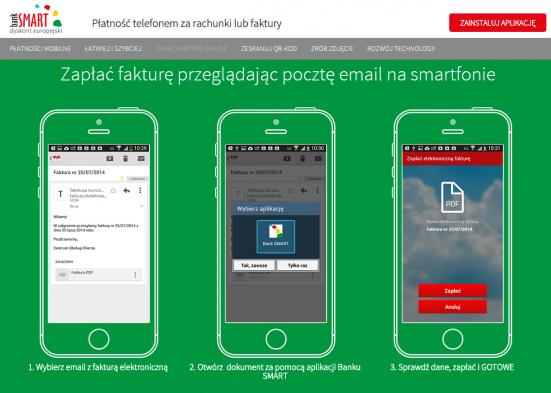 Bank SMART to pierwszy bank zaprojektowany z myślą o użytkownikach smartfonów