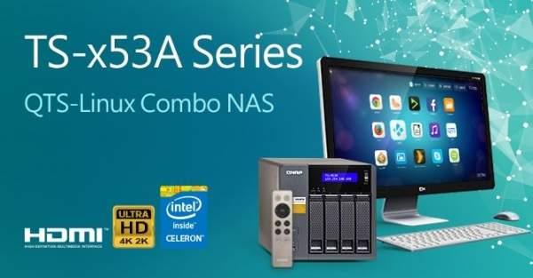 Nowy seria serwerów NAS TS-x53A